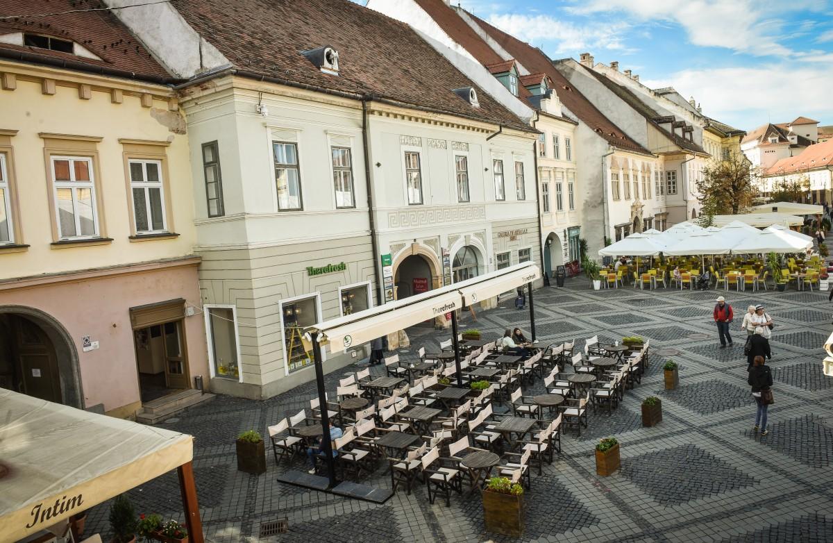 Variante de sprijin pentru restaurantele și cafenelele din Sibiu. Ce se cere, ce se poate