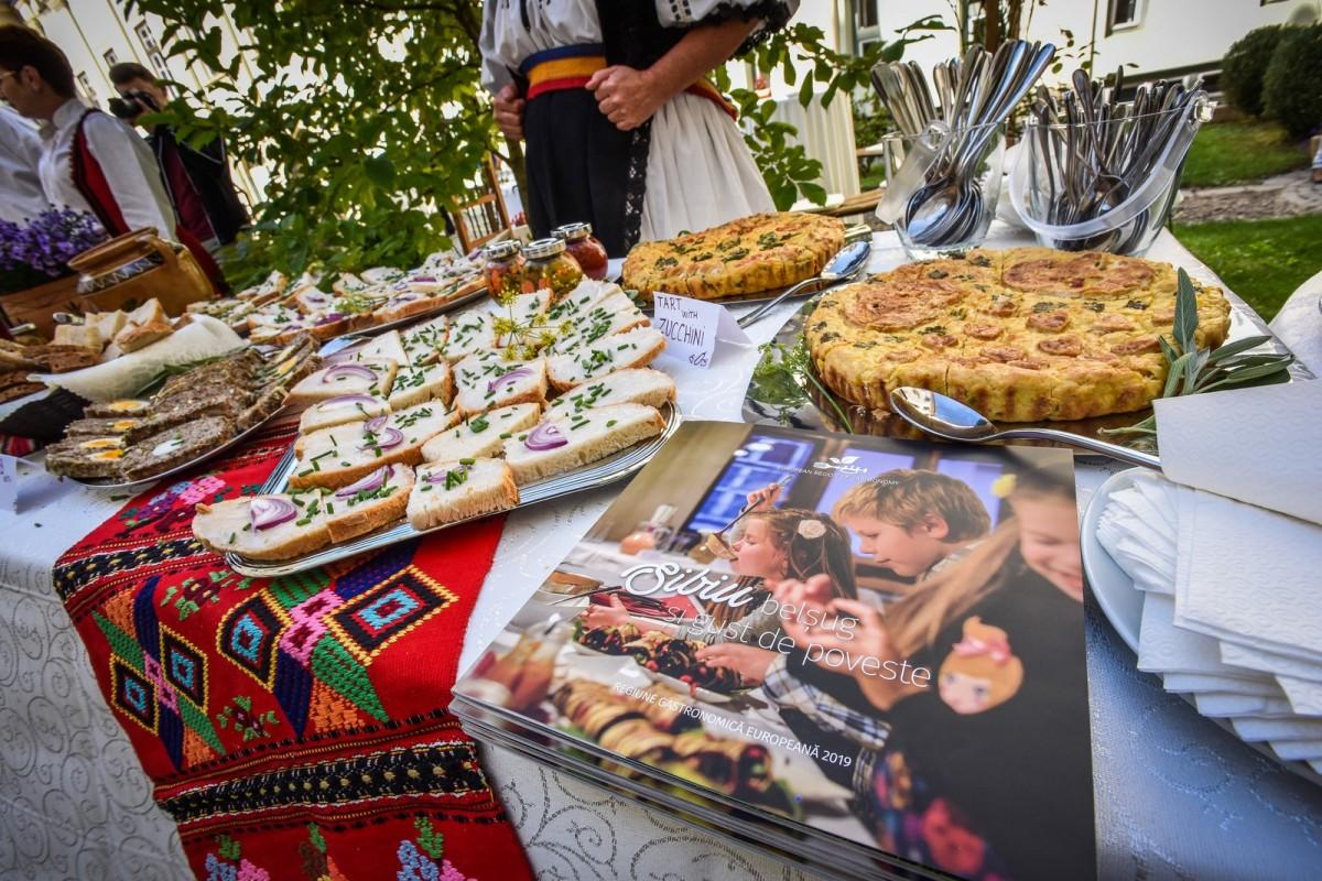 Sibiul va fi Regiune Gastronomică Europeană în 2019. Aproape nouă milioane de euro, bugetul estimat