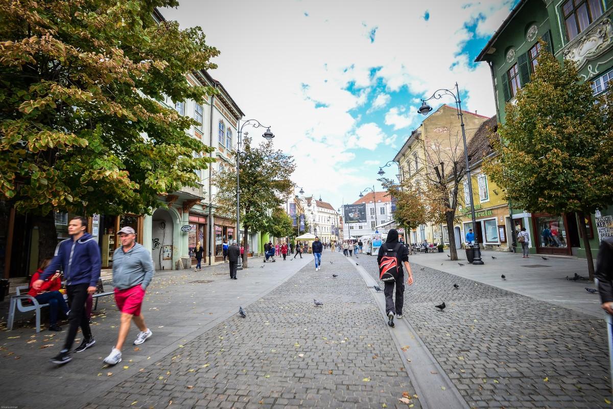 Statistică: în șase ani Sibiul a crescut cu aproape 70.000 de locuitori
