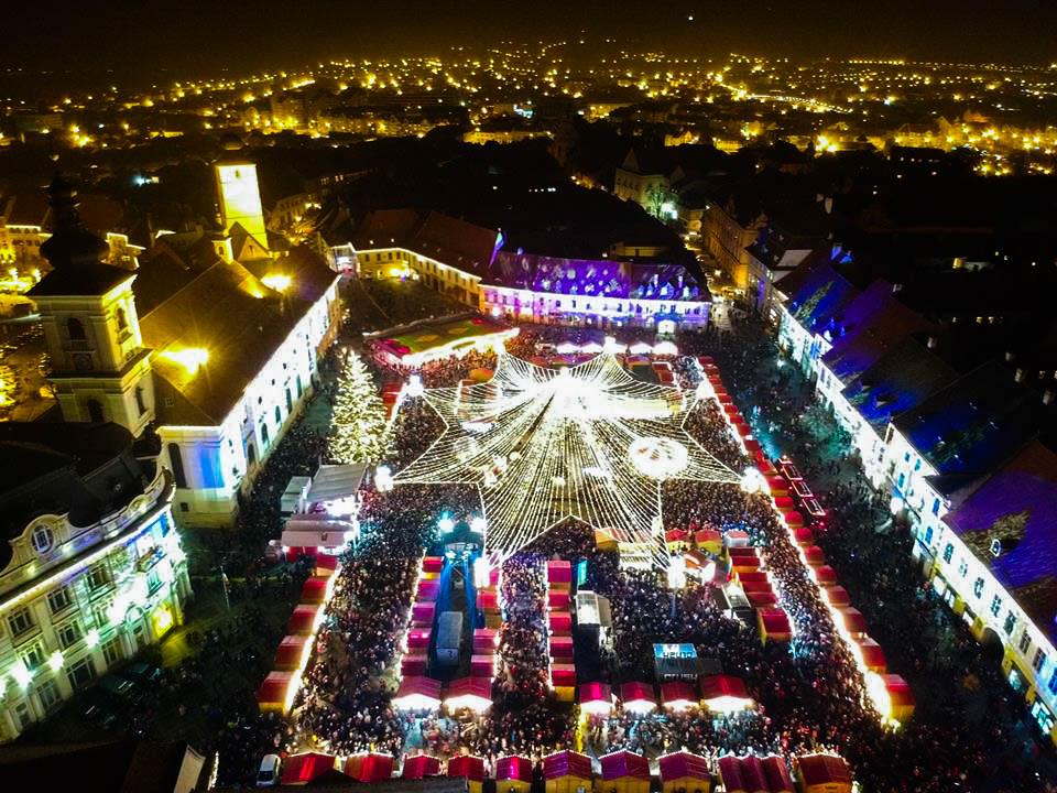 Terasele dincentrul Sibiului vor putea funcționa tot timpul anului, inclusiv înperioada Târgului de Crăciun