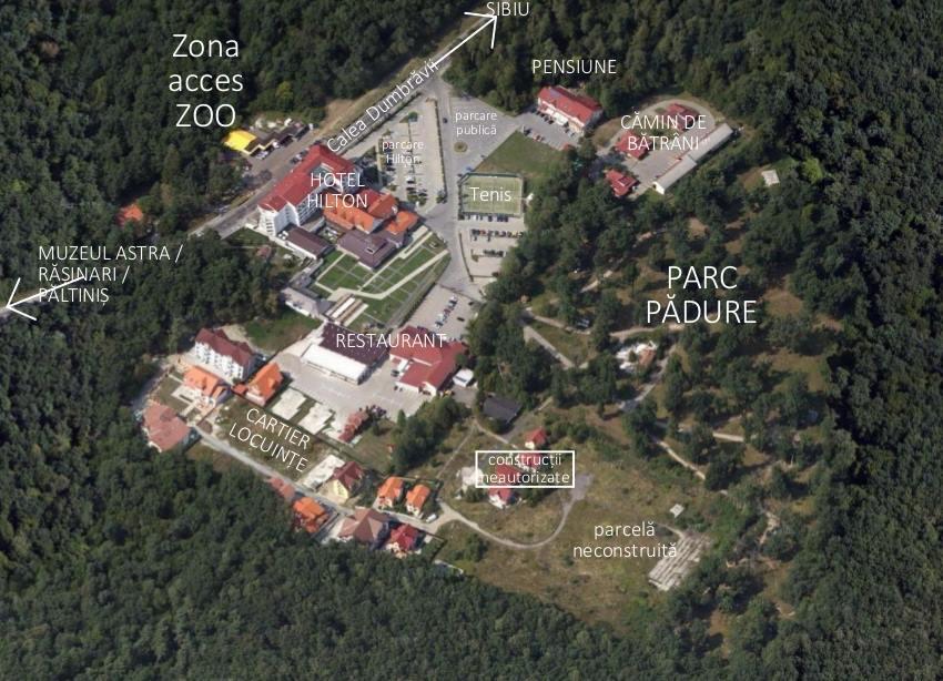 Soluția Primăriei pentru Pădurea Dumbrava: o ultimă zonă rezidențială, câteva demolări și un nou drum