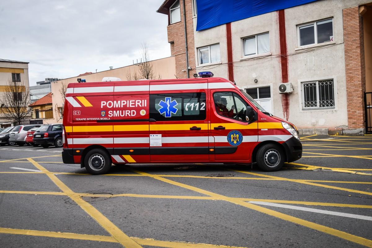 ISU Sibiu: 12 incendii și peste 200 de cazuri medicale, în primele zile ale anului