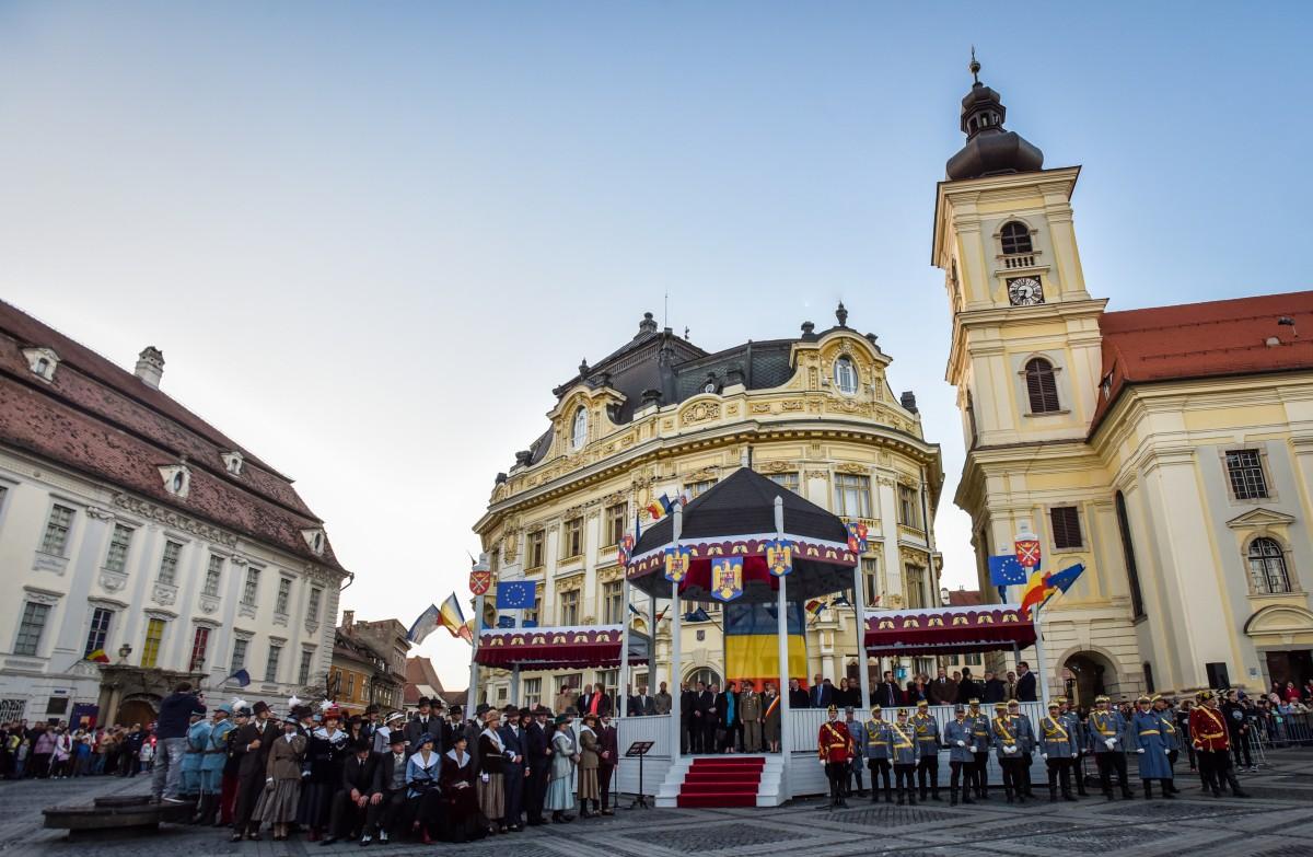 Foișorul cu care Sibiul a sărbătorit 100 de ani de la Marea Unire va putea fi vizitat la Zoo