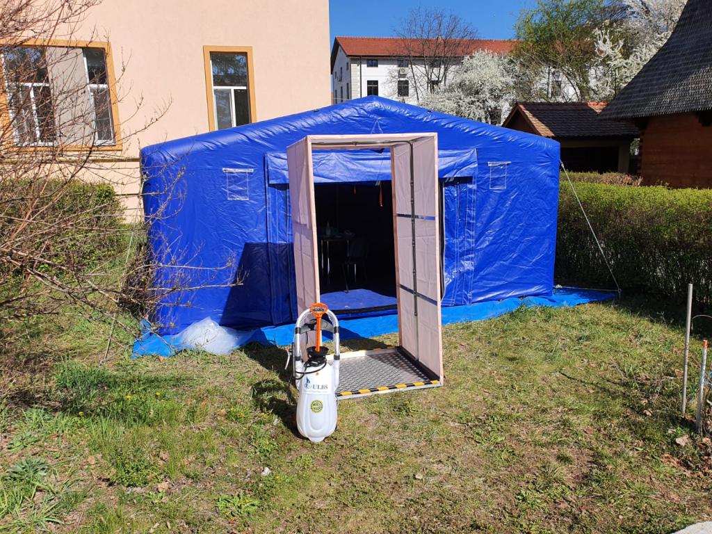 Inginerii Universității din Sibiu au construit o stație de decontaminare pentru Spitalul județean