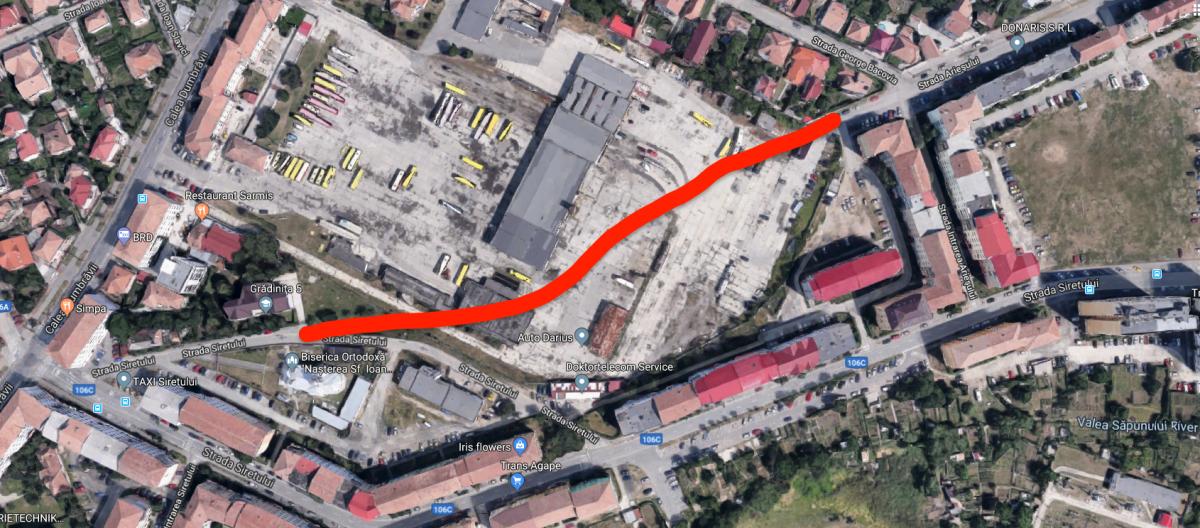 """Tursib-ul a dat Sibiului terenurile pentru o nouă stradă. """"Pentru a îmbunătăți substanțial mobilitatea dinspre Cisnădie"""""""