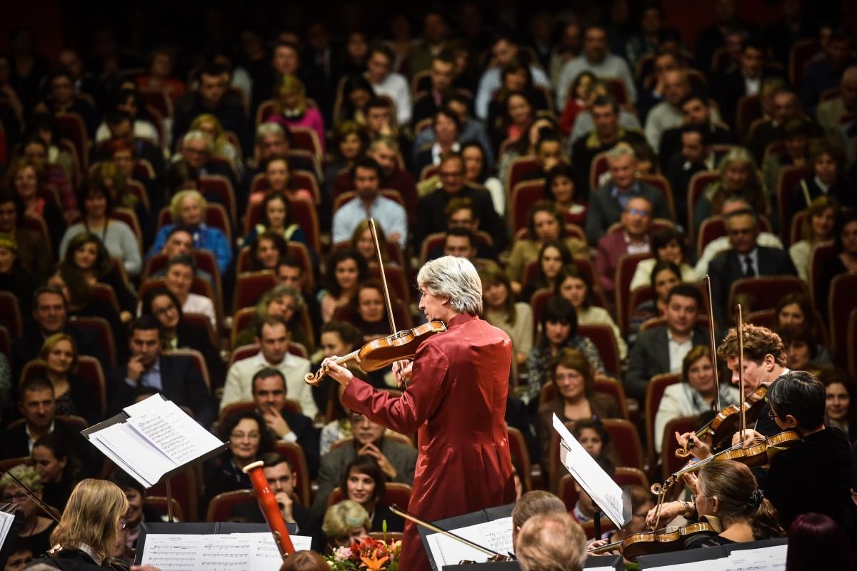 Concert cu casa închisă. Orchestra vieneză Johann Strauss Ensemble revine la Sibiu înainte de Crăciun
