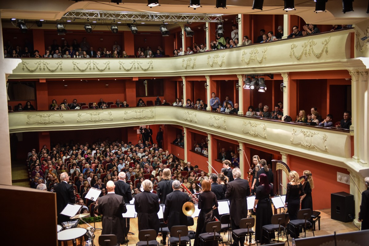 Orchestra Johann Strauss Ensemble a adus Crăciunul la Sibiu
