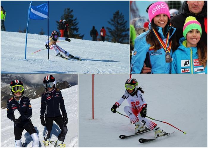 Surorile succesului. Maria și Ana Târșia, campioanele care schiază mai repede ca vântul și ca gândul