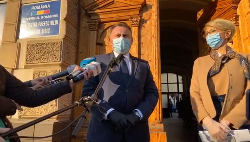 Ministrul Sănătății, la Sibiu: în câteva zile, fiecare test făcut pentru Covid-19 va avea rezultatul în aceeași zi