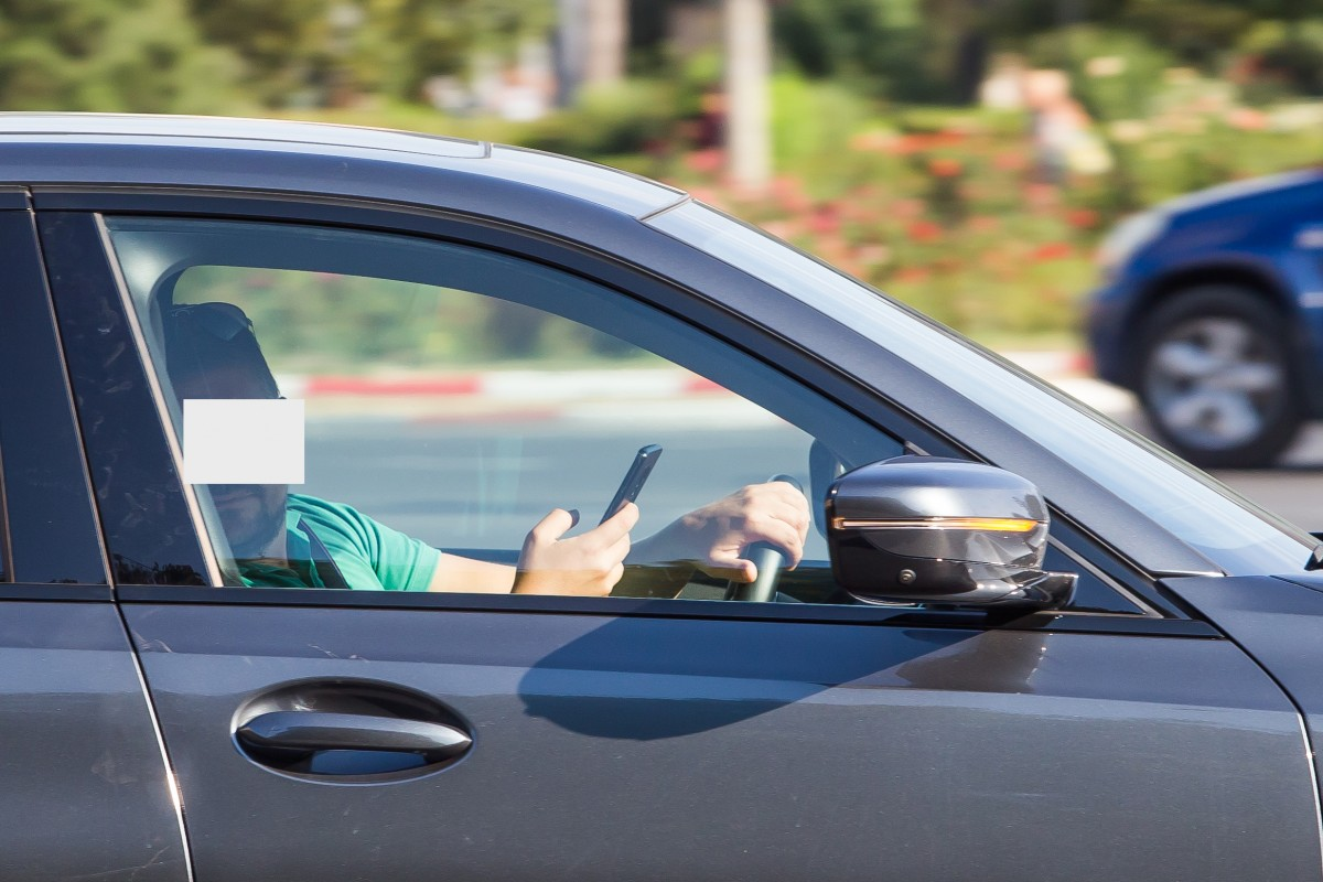 Experiment: Câți șoferi folosesc telefonul în timp ce conduc, înSibiu FOTO