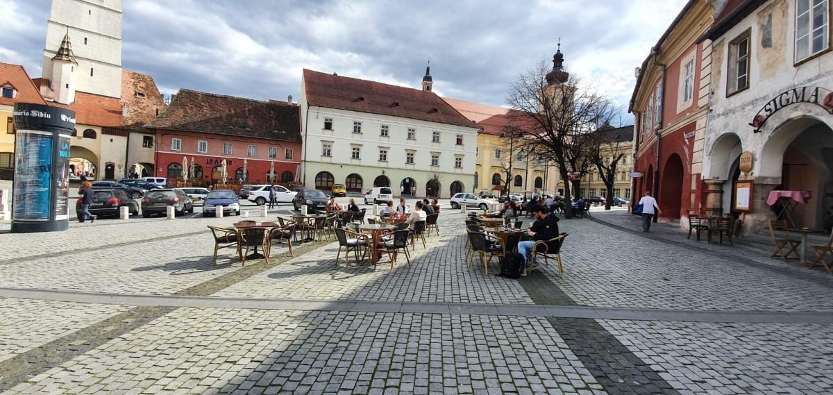 Măsuri speciale pentru terasele sezoniere din Sibiu