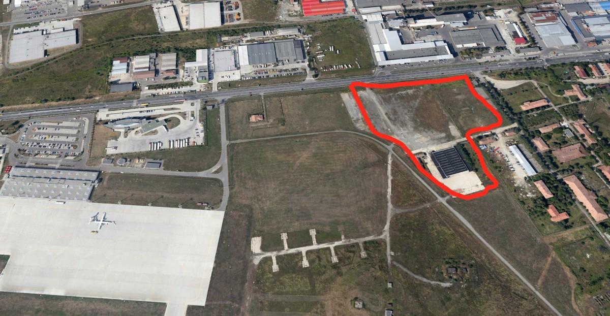 110.050 de euro pe an, lângă Aeroport: CJ concesionează terenul cerut de Camera de comerț, care nu-l mai vrea