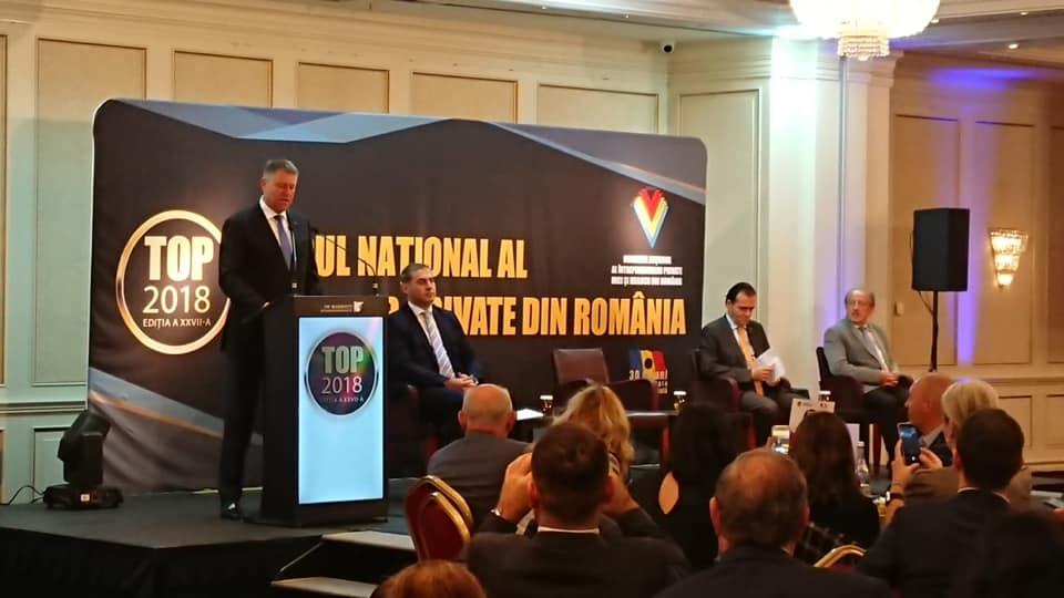 Topul firmelor private din România: companiile din Sibiu care au fost premiate