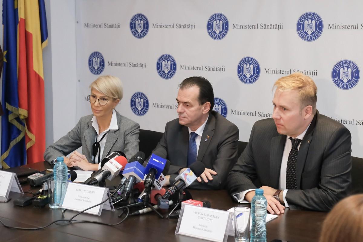 Ministrul Sănătății: a doua tranşă de 500.000 de doze de vaccin antigripal va fi livrată în 10 noiembrie