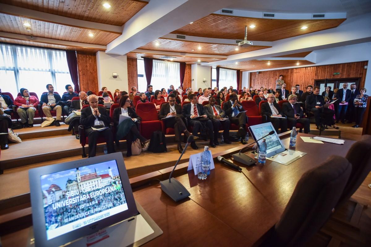 """ULBS a deschis programul Sibiu - Capitală universitară europeană. """"Este o invitație la un real dialog"""""""