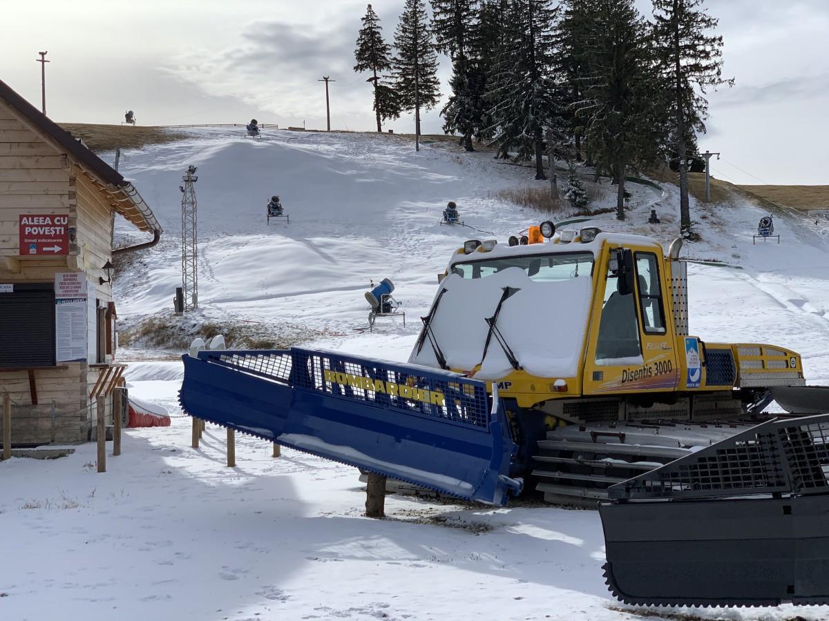 Complexul Arena Platoș deschide vineri sezonul de schi