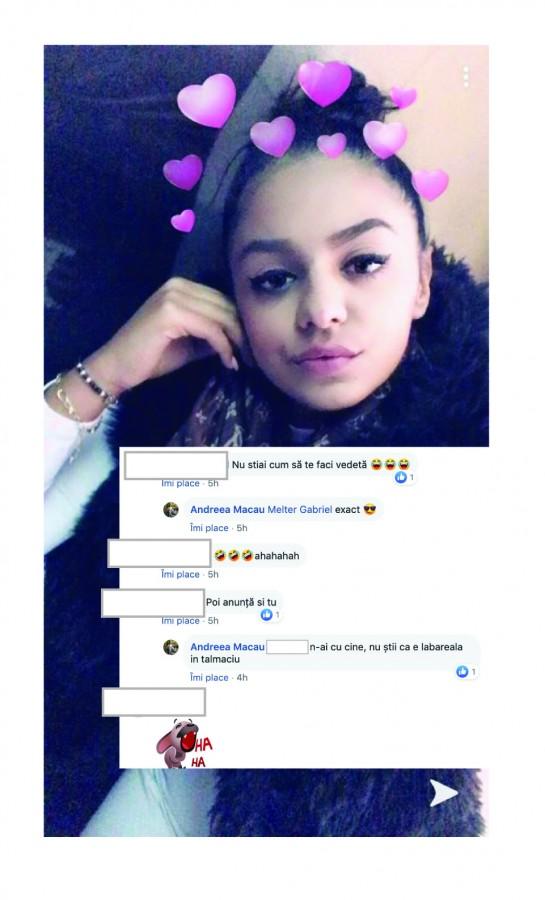 Tânăra din Tălmaciu care posta pe Facebook deși era dată dispărută s-a prezentat la poliție