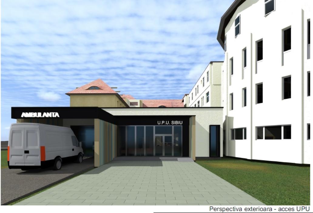 CJ Sibiu a semnat contractul pentru extinderea și dotarea Urgenței de la Județean. Anul viitor vom avea un computer tomograf performant (CP)