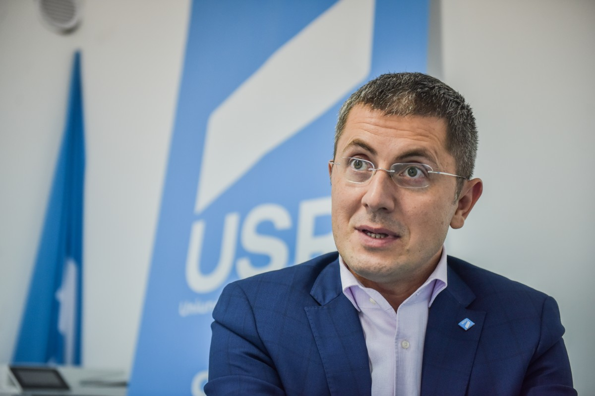 """Interviu. Dan Barna, președintele USR, între Președinție și Primărie. """"Sibiul are nevoie de o nouă poveste"""""""