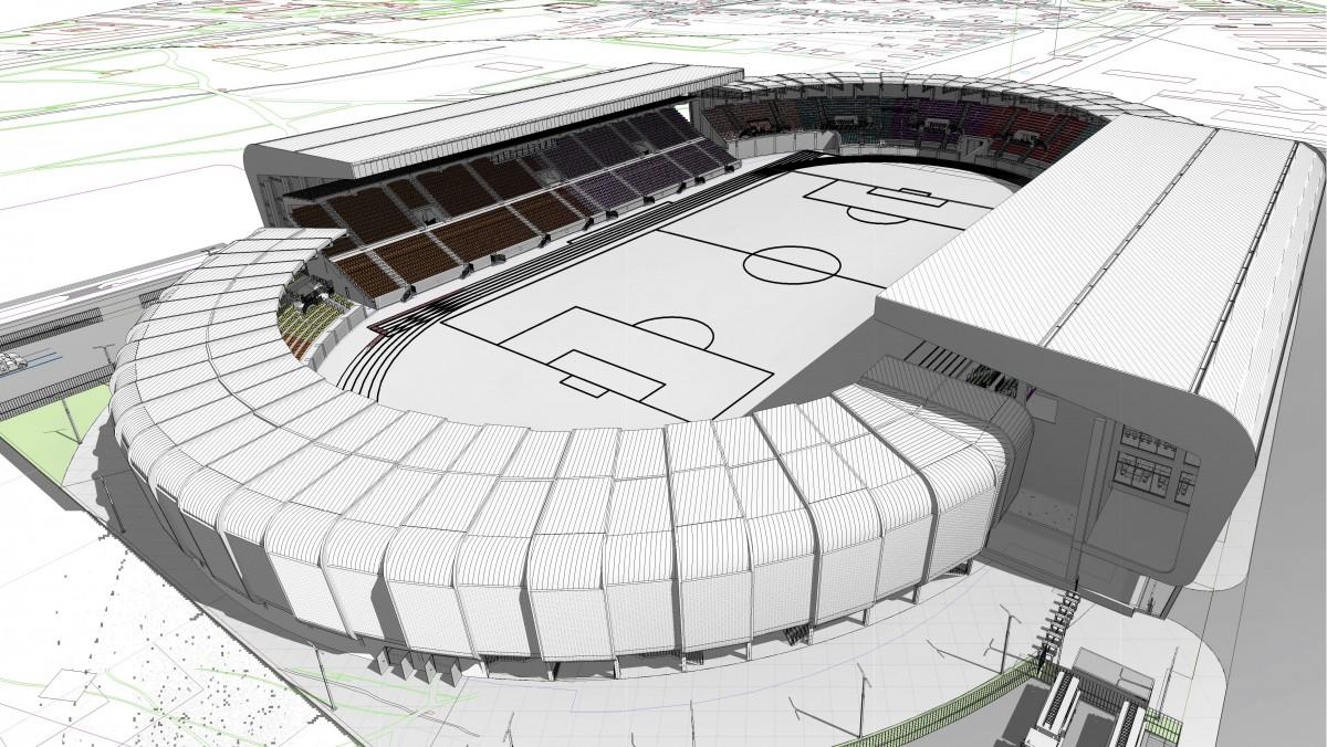 Viitorul stadion municipal, celelalte dotări: de la fântâni artistice, la televizoare și fax-uri