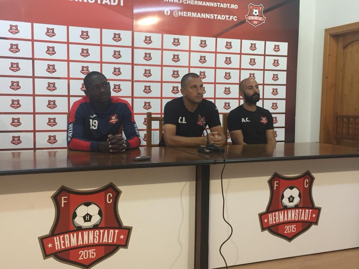 FC Hermannstadtjoacă astăzi cu Poli Iași:Ne organizăm foarte bine în ultima perioadă ca și grup și joc