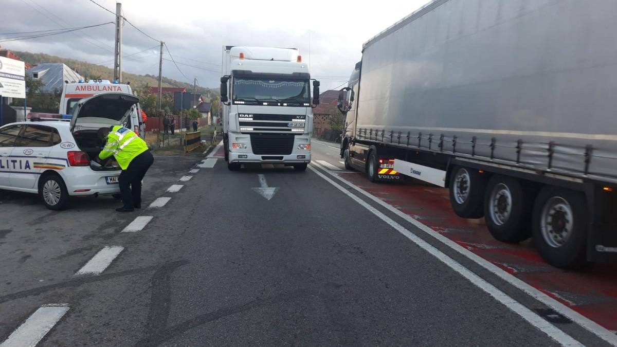 Un mort și nouă răniți pe DN 7, Sibiu-Rm. Vâlcea, în ultimele ore