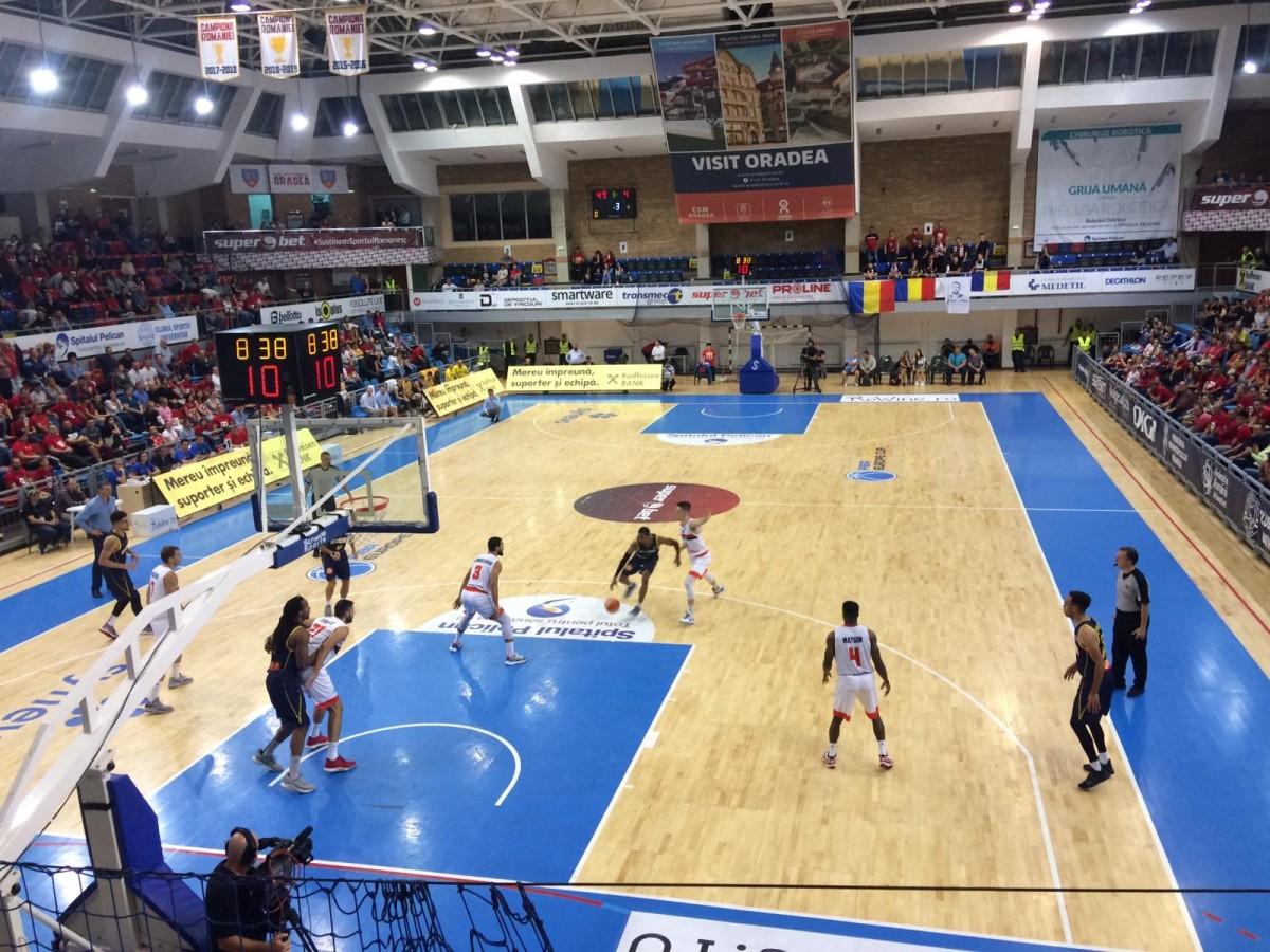 BC CSU Sibiu a pierdut primul meci din FIBA Europe Cup. Următorul se joacă acasă