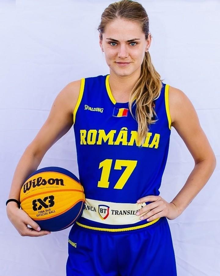 """Alexandra Uiuiu, fondatoarea clubului sibian BC 3x3 Elite. """"Am început din dragoste pentru fenomenul global pe care îl reprezintă 3x3-ul"""""""