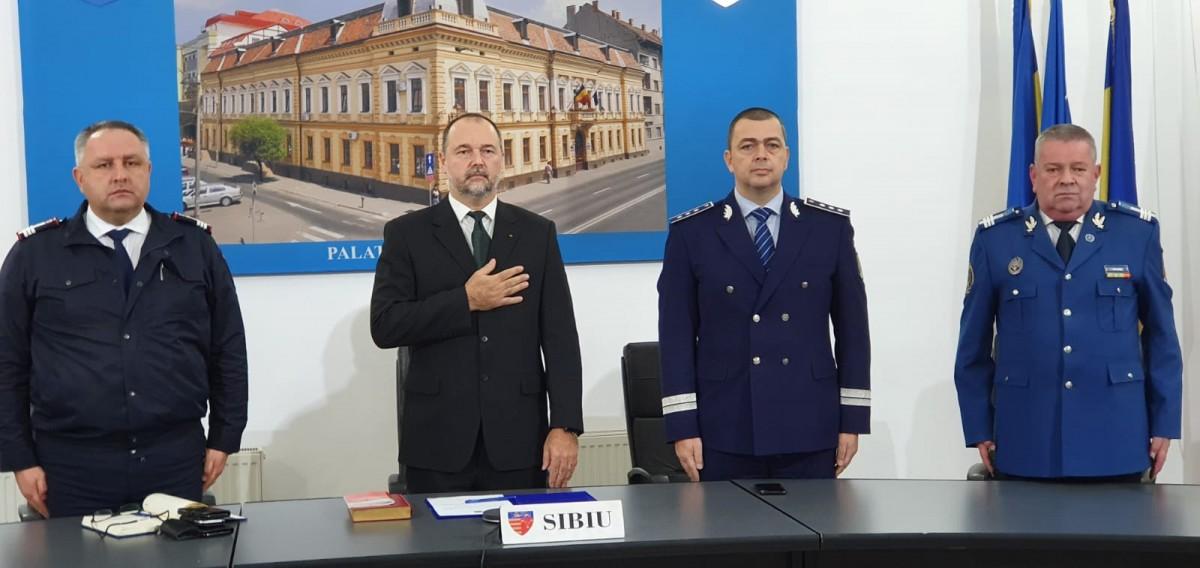 FOTO-Premieră la depunerea jurământului noului subprefect al Sibiului