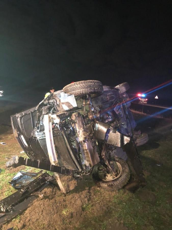 Accident mortal noaptea trecută, pe DN 14.Un tânăr de 23 de ani și-a pierdut viața