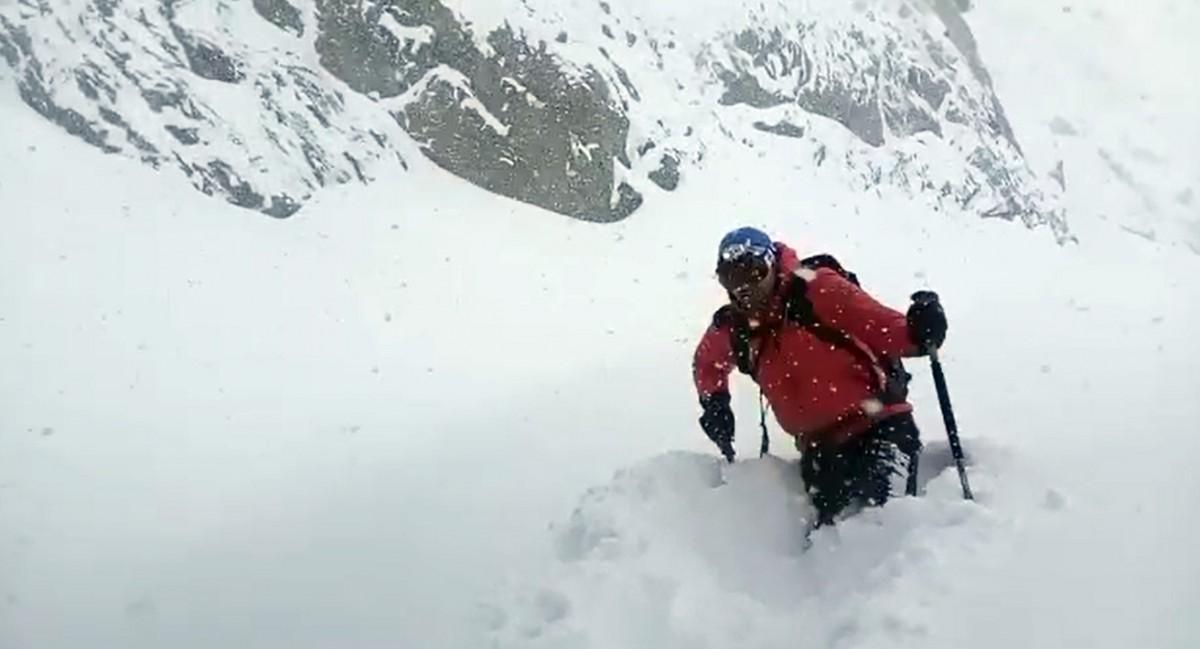 VIDEO. Risc mare de avalanșă în munții Făgărașului