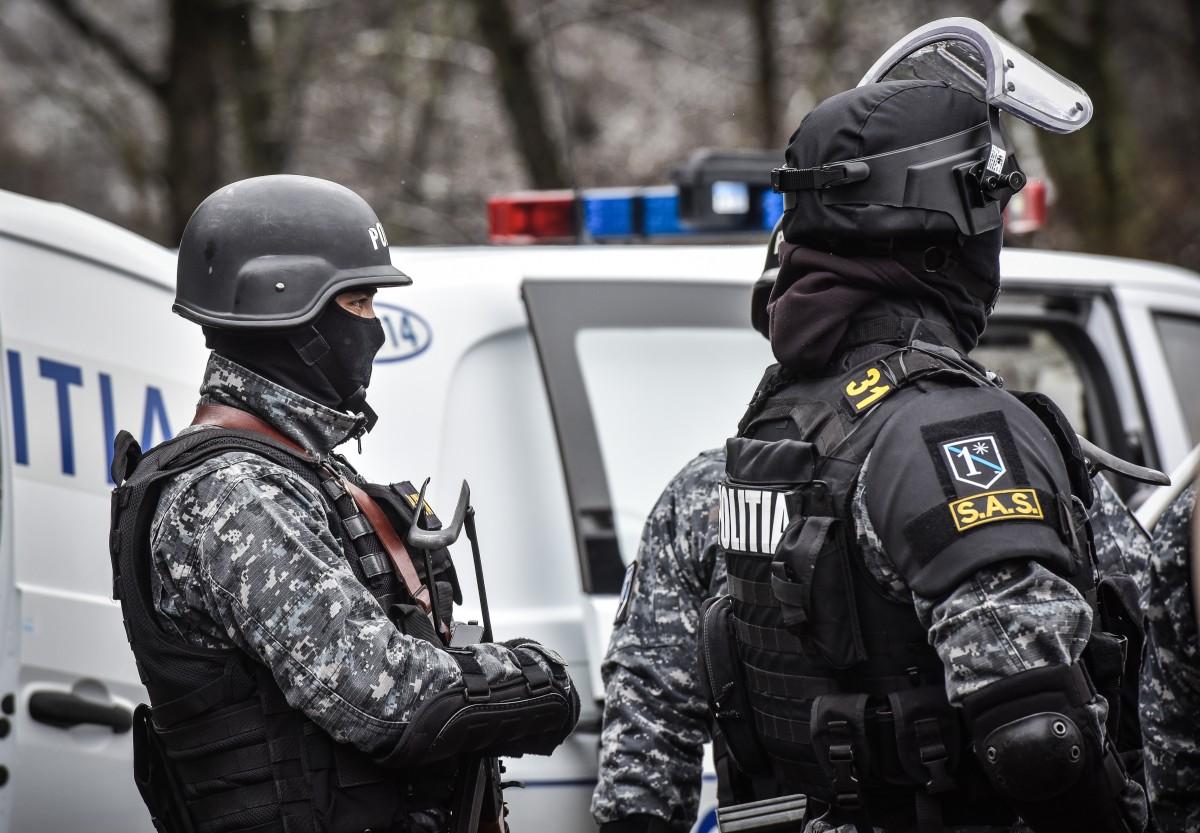 Video. Un bărbat bănuit de omor în Spania, prins la Sibiu