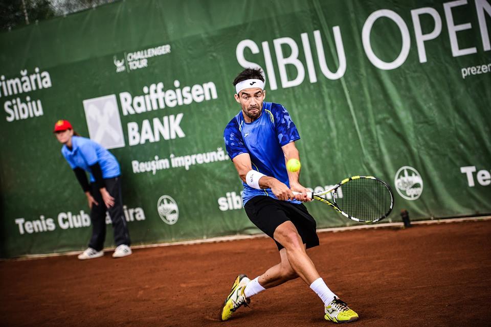 Ploaia reprogramează finala Sibiu Open 2015