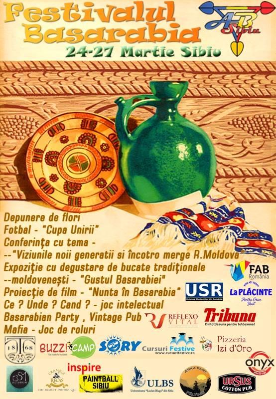 Cea de-a șasea ediție a Festivalului Basarabia începe astăzi