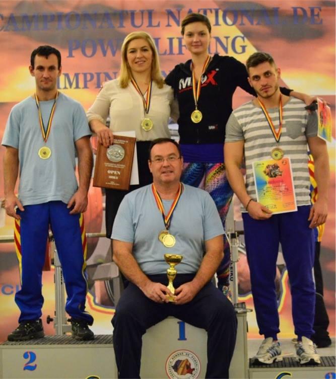 Sportivii de la CS Activ Sibiu au fost la înălţime, la Campionatul Naţional de Powerlifting
