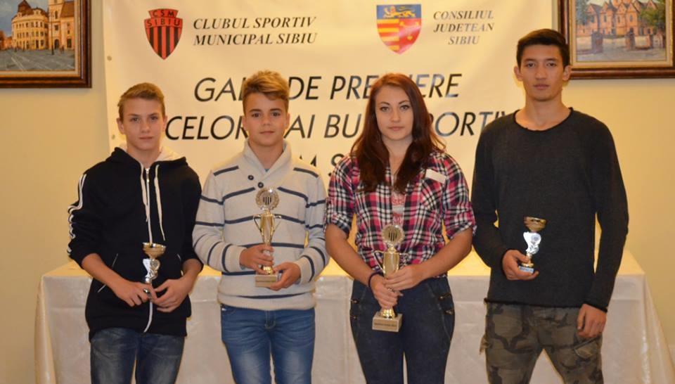 Gala Sportului Sibian 2015: cei mai buni sportivi vor fi premiaţi