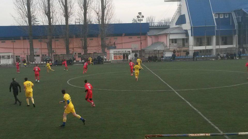 FOTO | Înfrângere la scor, în primul amical al iernii. FC Hermannstadt nu a avut nicio șansӑ în faţa echipei de Liga a II-a CSM Râmnicu Vâlcea