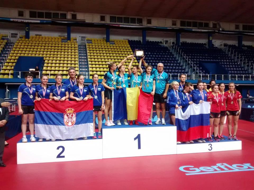 Bucurie de nedescris la Campionatul European. Andreea Dragoman cucerește medalia de aur cu echipa națională a României