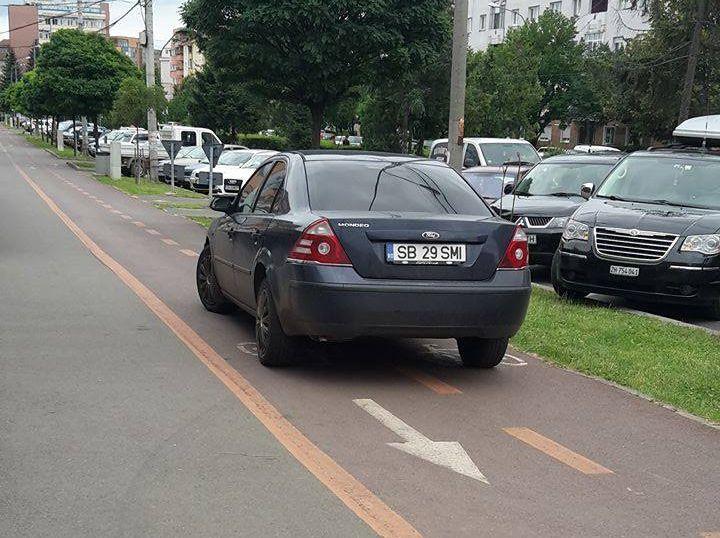 FOTO – Colecție de parcări în Sibiu