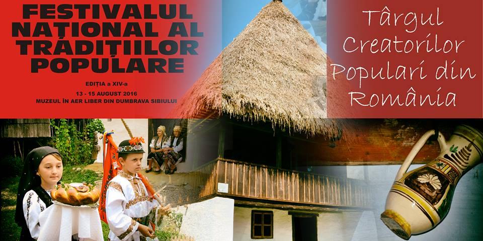 Patru zile de spectacole la Festivalul Național al Tradițiilor Populare, din Dumbrava Sibiului