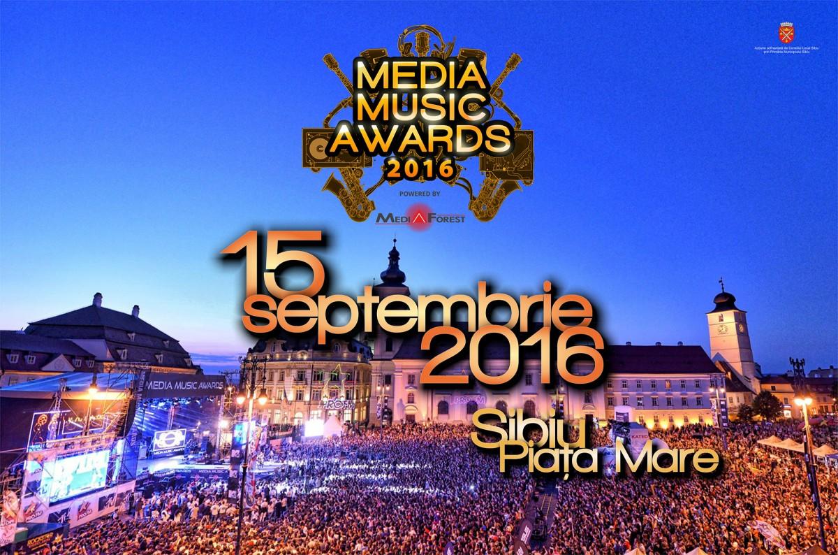 Cinci ani de Media Music Awards la Sibiu