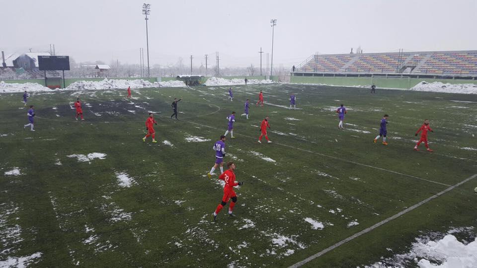 FC Hermannstadt a suferit prima înfrângere în amicale
