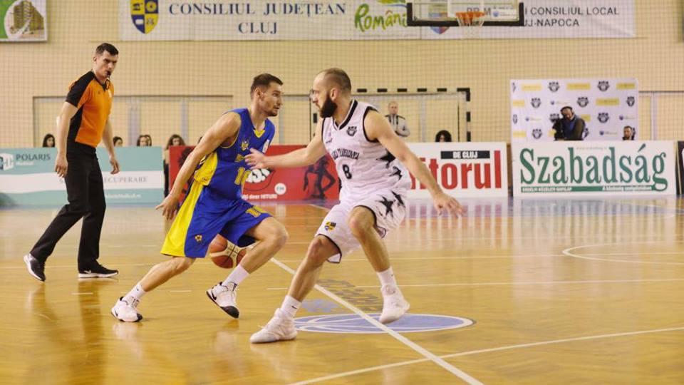 BC CSU Sibiu a pierdut derby-ul Transilvaniei la baschet