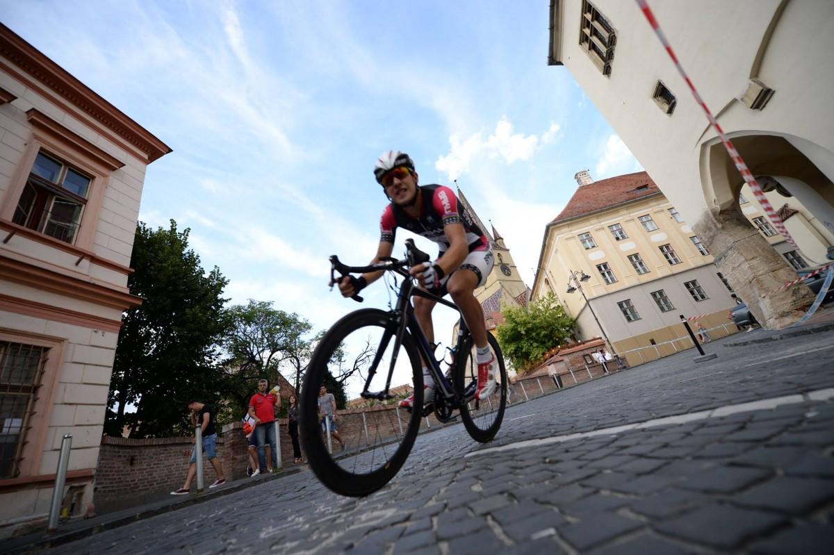 Astăzi începe Turul Ciclist al Sibiului. Spectacol în centrul istoric