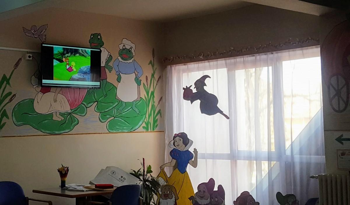 EDU TV, proiectul pentru copiii internați la Spitalul de Psihiatrie, este în sfârșit funcțional