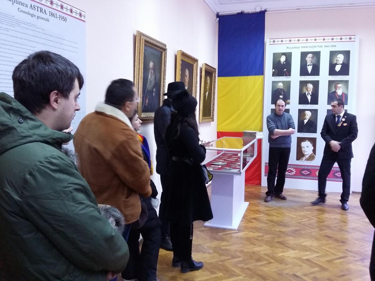 Centenarul Marii Uniri sărbătorit la Biblioteca Județeană ASTRA Sibiu (CP)