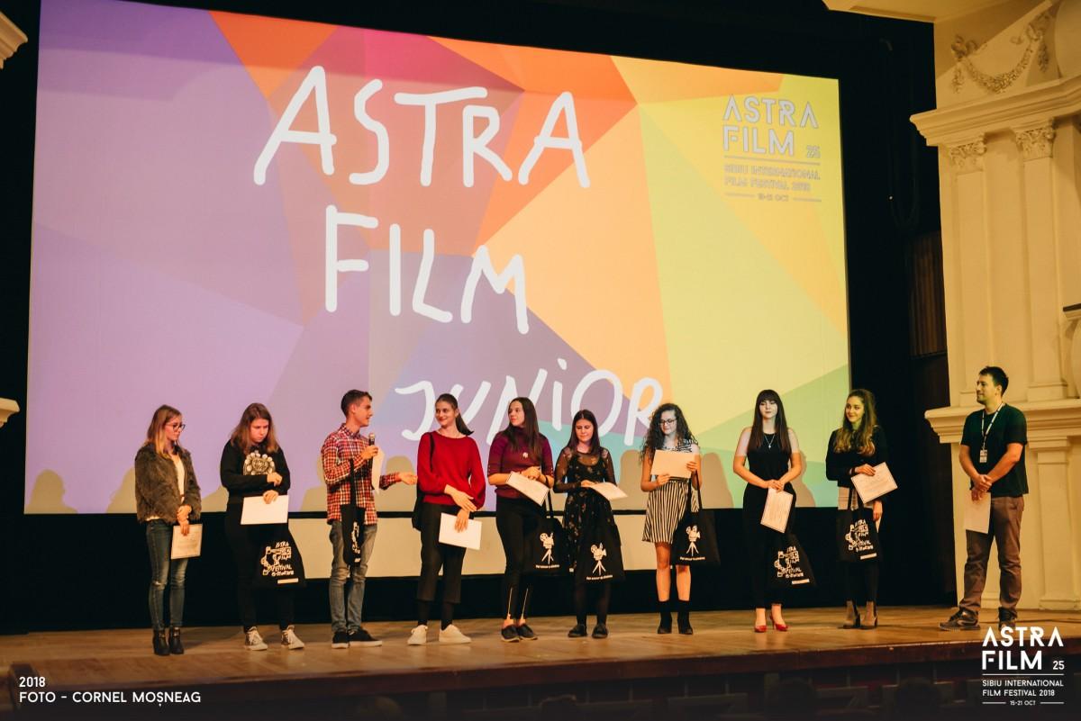 Sibiul vazut de liceeni, pe marele ecran la Astra Film Festival