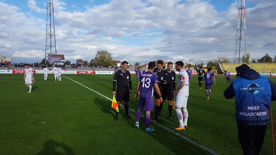 FC Hermannstadt, egal în deplasare. Rămâne pe primul loc
