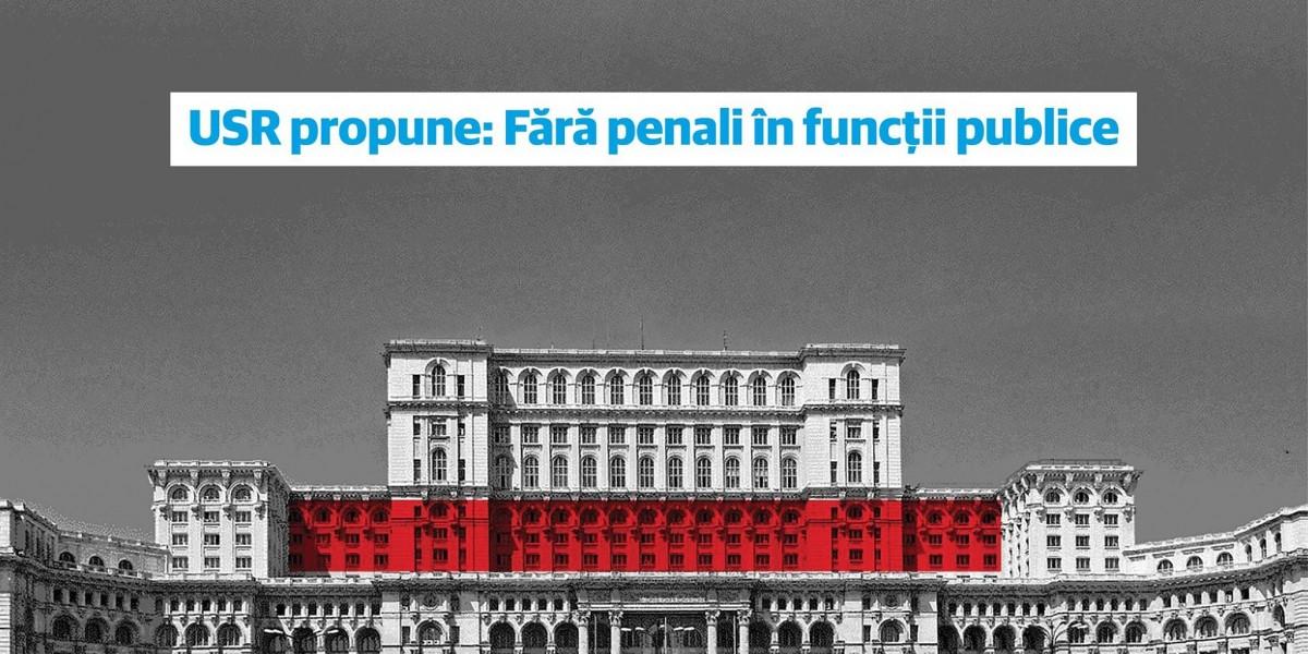 """FDGR se alătură acțiunii USR: """"Fără penali în funcții publice"""""""
