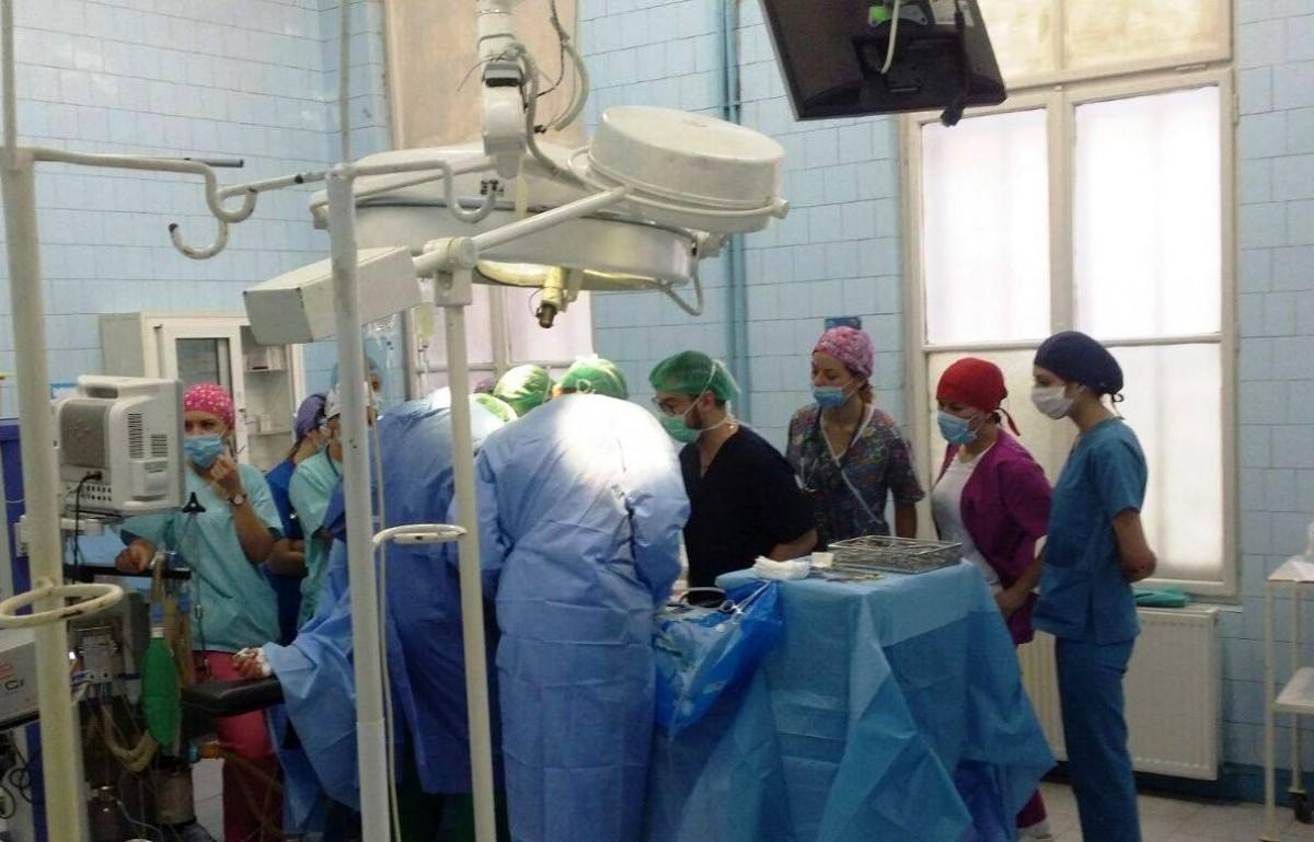 Prelevare de organe de la o pacientă aflată în moarte cerebrală, la Spitalul Județean de Urgență Sibiu
